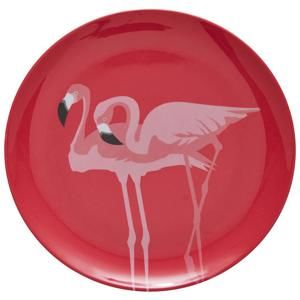 Dezertný Tanier Flamingo Couple